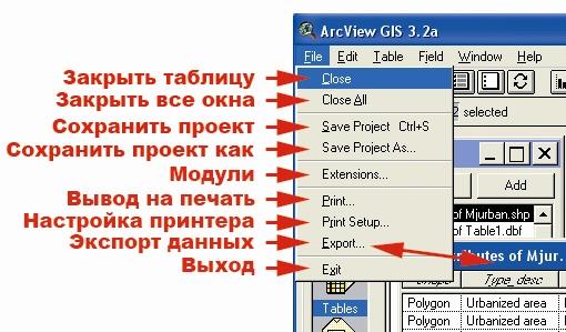 Рис. 24. Меню категории команд «File – Файл»
