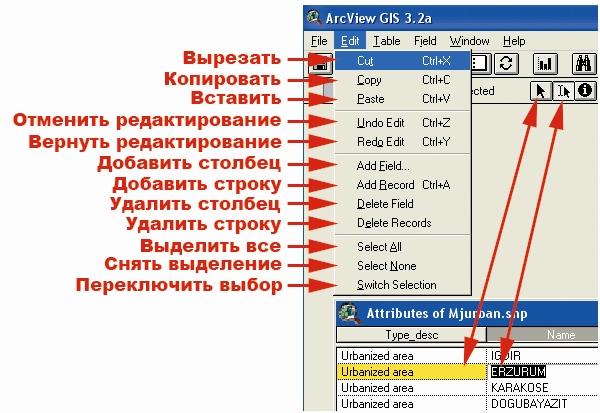 Рис. 25. Меню категории команд «Edit – Редактирование»