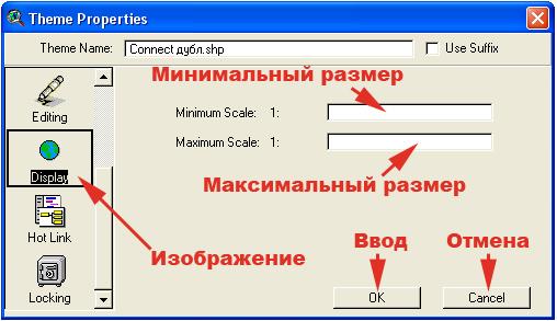 Рис. 161. Менеджер свойств темы в режиме функции «Display – Изображение»