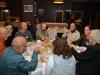 Торжественный ужин: Рувен Йозеф с женой, Луис Пальма, Гунар Сейн, Юло Вяли, Ал Врежек с женой, Пертти Саурола