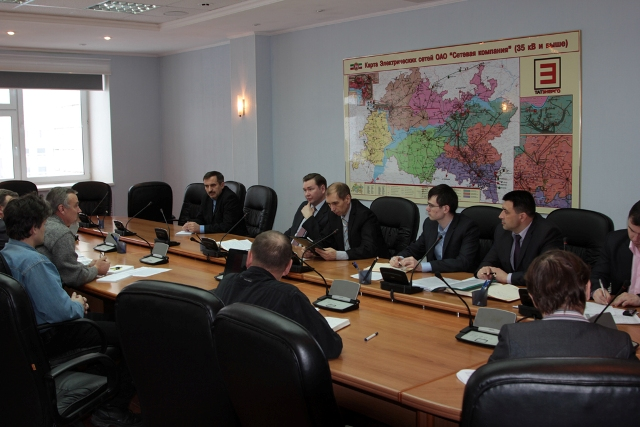 [:ru]Совещание в ОАО «Сетевая компания» в Казани[:en]Workshop in JSC