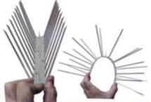 Ёж-стандарт. Если его так легко сгибает пальцами человек, что же с ним сделает орёл, приземлившись на этот девайс всей своей массой?