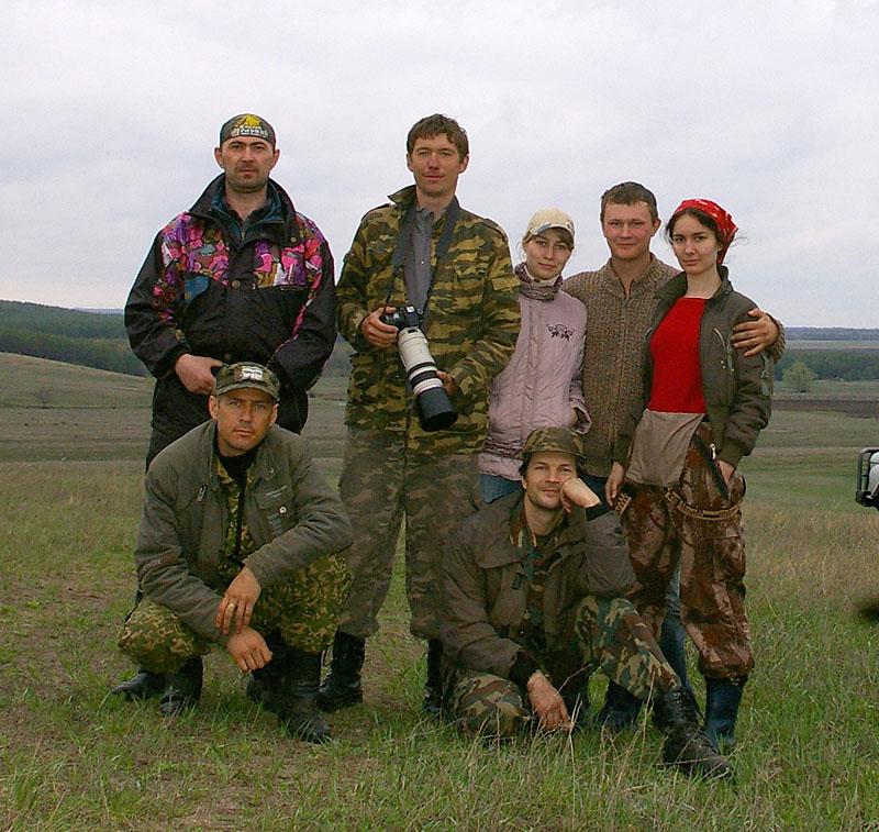 Экспедиция членов RRRCN в Поволжье в 2011 г. Фото С. Адамова