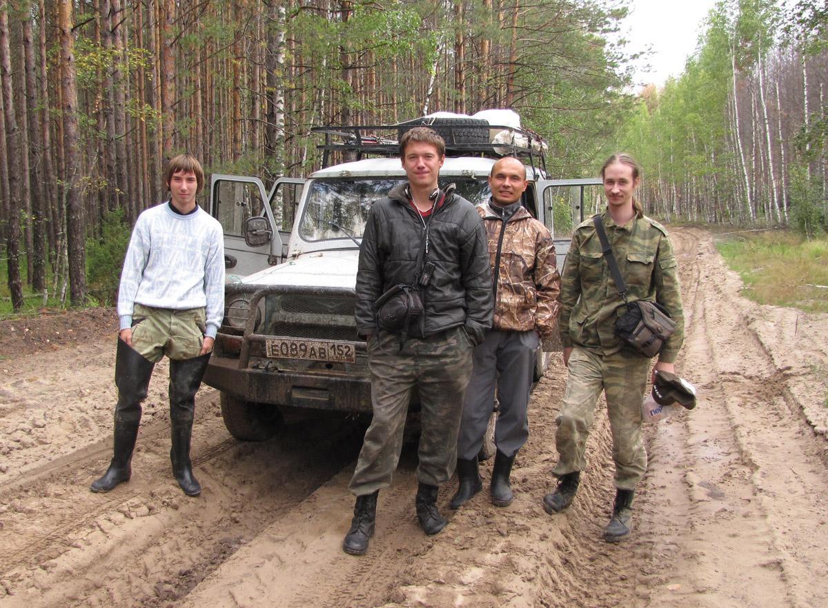 Орлы! Слева направо: Иван Гучев, Алексей Левашкин, Алексей Карпов и Дмитрий Денисов. Фото И. Карякина