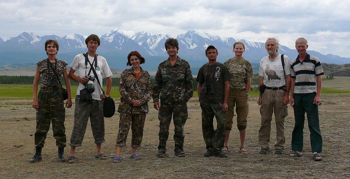 Экспедиция членов RRRCN на Алтай в 2011 г. Фото Р. Бекмансуров