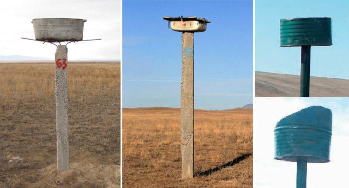 Альтернатива платформам из жестяных тазов, раковин и разрезанных бочек. Фото И. Карякина, А. Куксина и М. Эзериджа