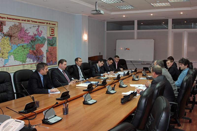 Совместное совещание представителей ОАО «Сетевая компания» и Союза охраны птиц России 17 января 2012 года