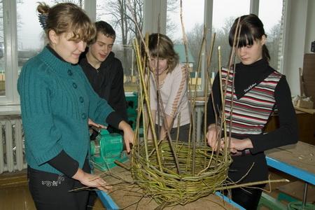 Мастер-класс по плетению корзинок. Автор Ольга Лукшиц