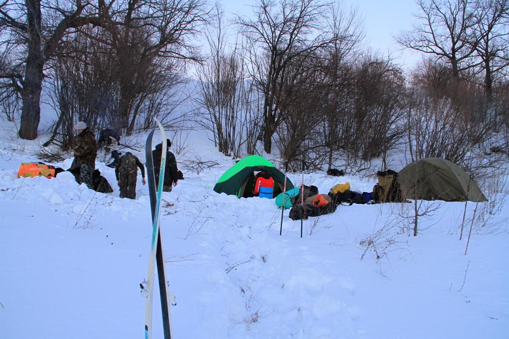 Второй лагерь в Щучьих горах