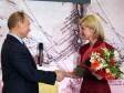 В.В. Путин поздравляет Люду Нехорошеву с получением гранта РГО