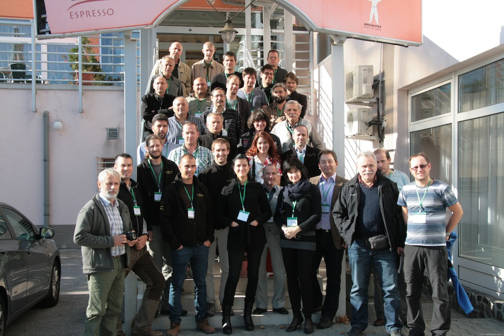 Participants of the 7th International Conference on the Conservation of the Eastern Imperial Eagle