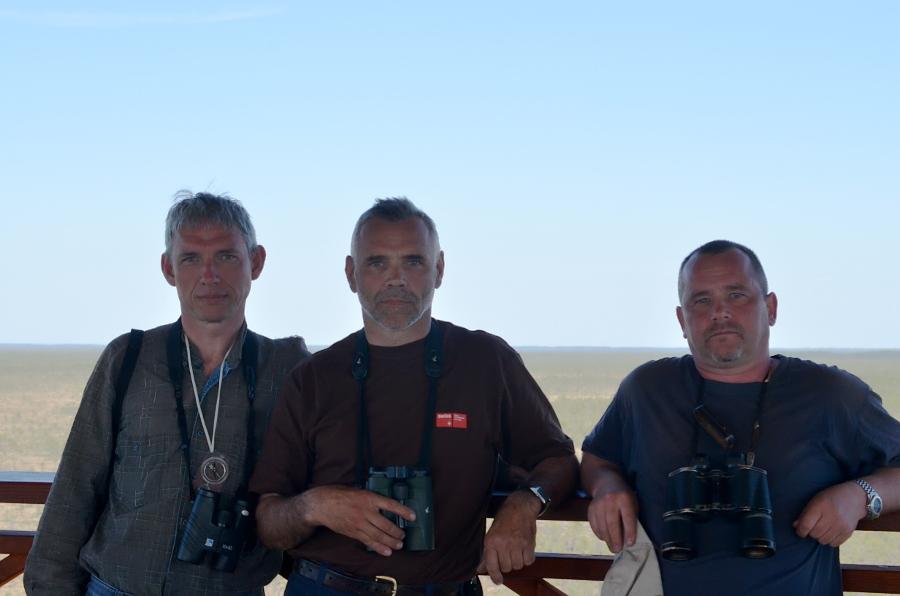 Участники экспедиции: Валерий Домбровский (Беларусь), Угис Бергманис (Латвия), Сергей Домашевский (Украина)