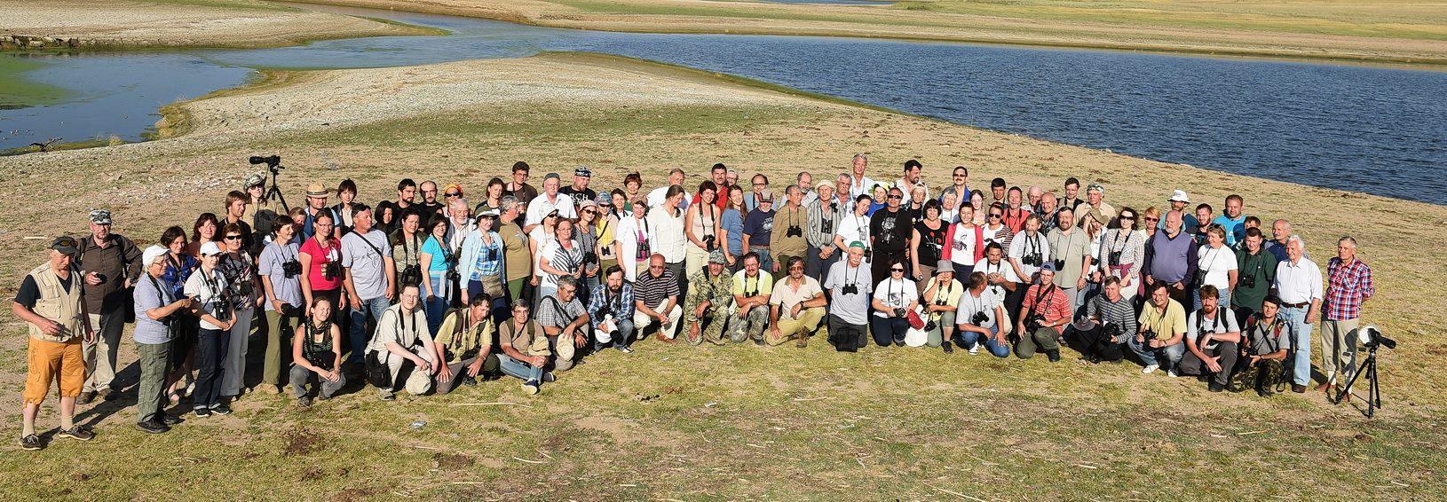 Участники XIV Международной орнитологической конференции Северной Евразии на экскурсии. Фото О. Белялова