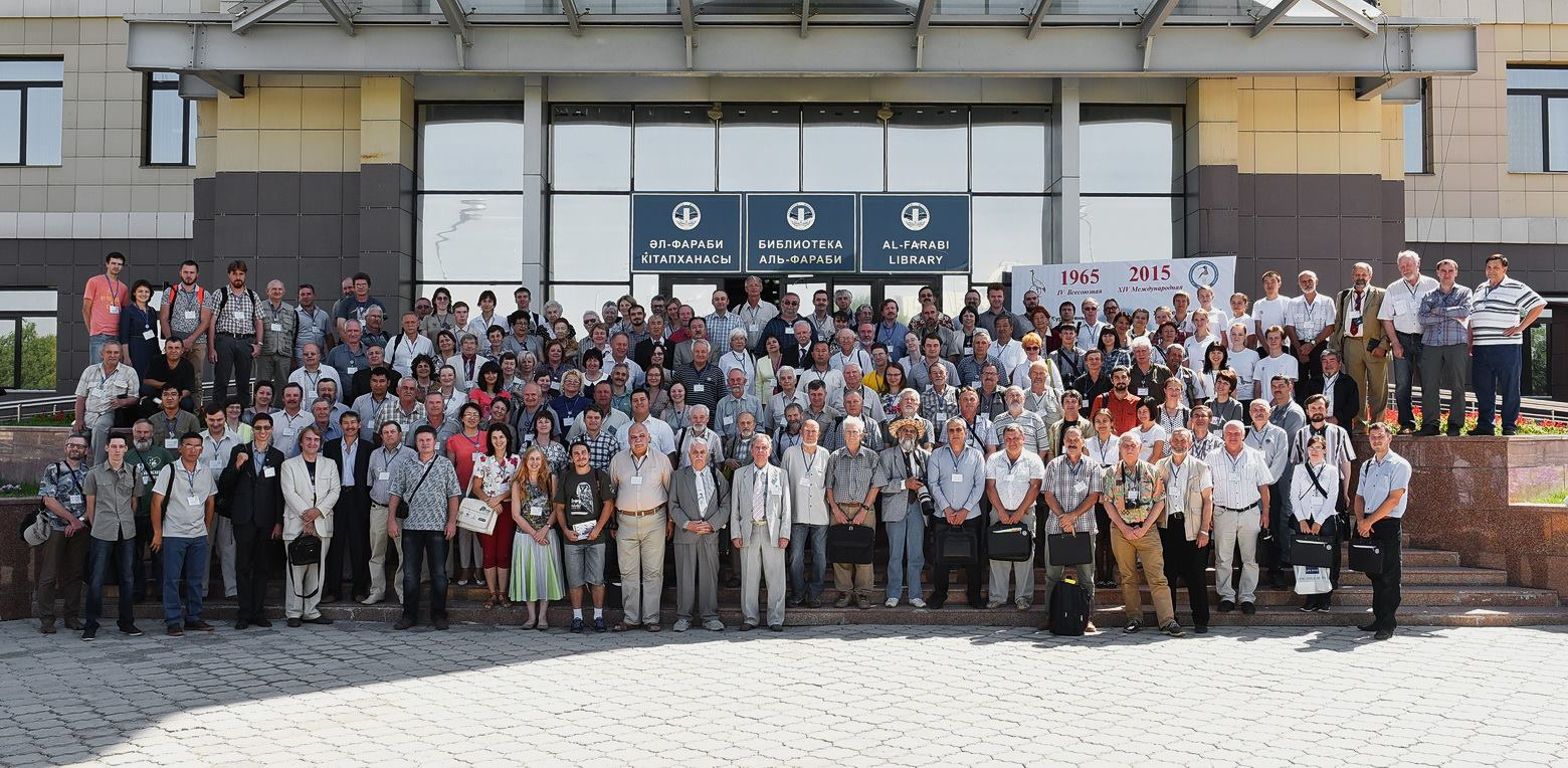 Участники XIV Международной орнитологической конференции Северной Евразии. Фото О. Белялова