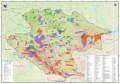 Карта особо охраняемых природных территорий Алтае-Саянского экорегиона